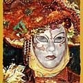Carnivale Mask #12 by Charles Berman