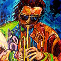 Carole Spandau Paints Miles Davis And Other Hot Jazz Portraits For You by Carole Spandau