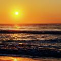 Carolina Beach Sunrise by Kim Johnson