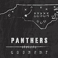 Carolina Panthers Art - Nfl Football Wall Print by Damon Gray
