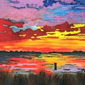 Carolina Sunset by Patricia Griffin Brett