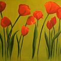 Carolina Tulips by Carol Sweetwood