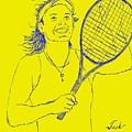 Caroline Wozniacki by Jack Bunds