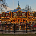 Carousel At Dusk by Terry Weaver