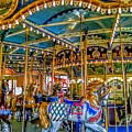 Carousel At Peddlers Village by Christopher Lotito