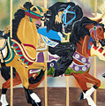 Carousel Beauties by Debbie LaFrance