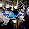 Carousel Blue by Linda Shafer