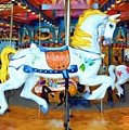 Carousel Colors # 4 by Mel Steinhauer