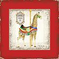 Carousel Dreams - Giraffe by Audrey Jeanne Roberts