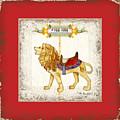 Carousel Dreams - Roaring Lion by Audrey Jeanne Roberts