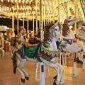 Carousel Horse 4 by Anita Burgermeister