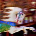 Carousel Horse In Motion by Garry Gay