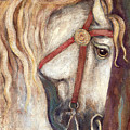 Carousel Horse Painting by Frances Gillotti