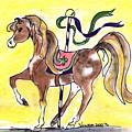 Carousel Horse by Vonda Lawson-Rosa
