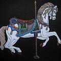 Carousel Horse by Yvonne Johnstone