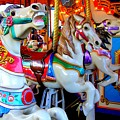 Carousel Horses by Mary Deal