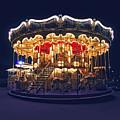 Carousel In Paris by Elena Elisseeva