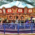 Carousel Inside The Mall by Jeelan Clark