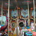 Carousel With Mirrors by Anne Cameron Cutri