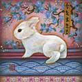 Carpe Diem Rabbit by Retta Stephenson
