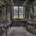 Carpenters Workshop In Gammelstilla, Sweden by Ludwig Riml