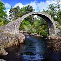 Carr Bridge Scotland by Don and Bonnie Fink