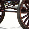 Carriage Wheels by Linda Shafer