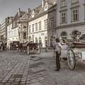 Carriages Back To Stephanplatz by Roberto Pagani