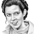Carrie Fisher by Murphy Elliott