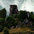Carrigogunnell Castle  by Jaroslaw Blaminsky