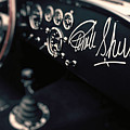 Carroll Shelby Signed Dashboard by Paul Bartell