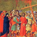 Carrying Of The Cross 1311 by Duccio