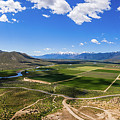 Carson Valley Panorama by Frank Testa