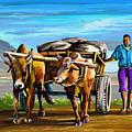 Cart Man by Anthony Mwangi