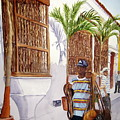 Cartagena Peddler I by Julia RIETZ