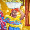 Cartagena Peddler II by Julia Rietz