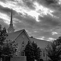 Carter Chapel Bridgewater College Va - Bw 1 by Manny Jose