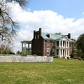 Carter House And Carnton Plantation by John Black