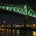Cartier Bridge Night by Randall Weidner