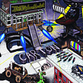 Carton Album Cover Artwork Front by Richie Montgomery