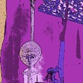 Cartoon Altar Of The Exotic #4 by Jayne Somogy