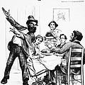 Cartoon: Anarchist, 1893 by Granger