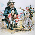 Cartoon: Uncle Sam, 1893 by Granger