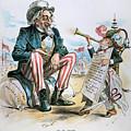 Cartoon: Uncle Sam, 1893 by Granger