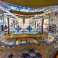 Casa Batllo Stairwell Barcelona Spain by Adam Rainoff