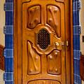 Casa Batllo Gaudi Door by Adam Rainoff