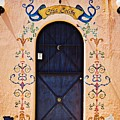 Casa Colibri Door In Ajijic, Mexico by Tatiana Travelways