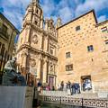 Casa De Las Conchas In Salamanca by JR Photography