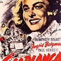 Casablanca B by Movie Poster Prints