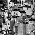 Casares Pueblo. Black And White by Peter Hayward Photographer